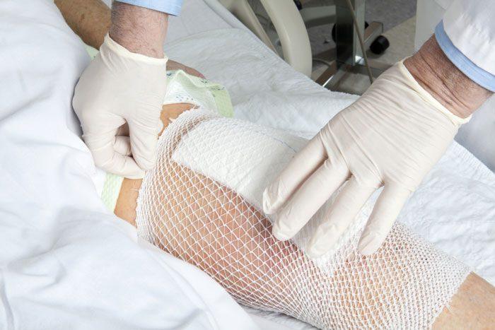 پانسمان برای زخم های عفونی